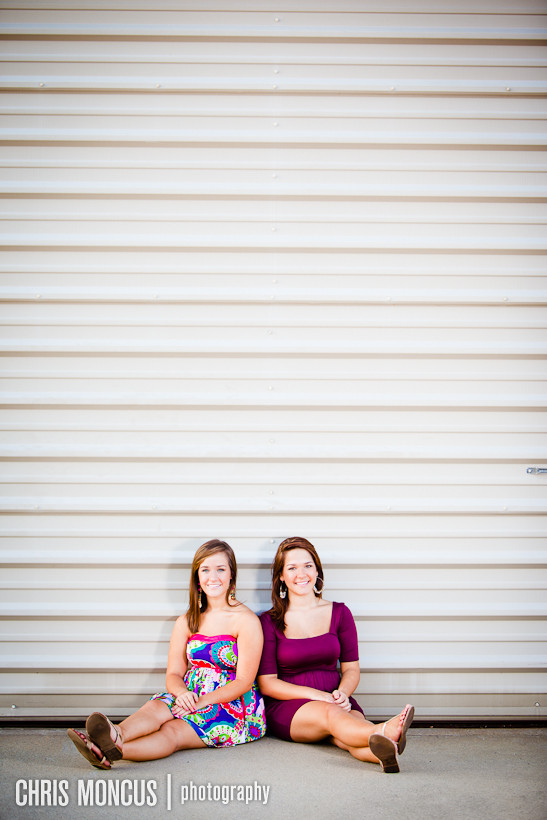 Devyn and Darianne Miller Senior Portraits
