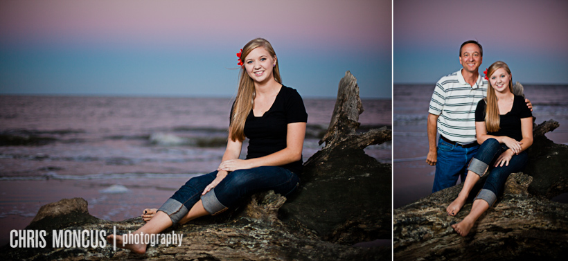 101 Laynes Senior Portraits on Jekyll Island   Historic District and Driftwood Beach