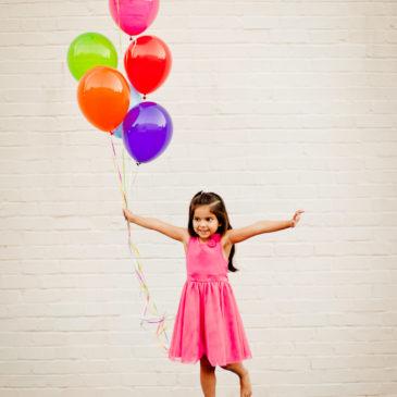 Sara + Balloons at the St. Simons Village
