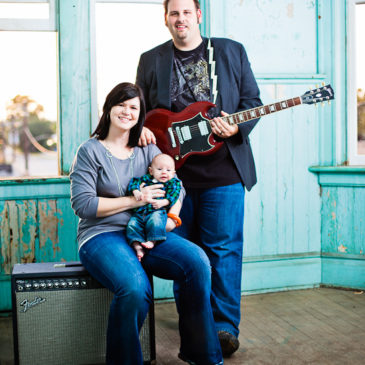 Thompson Family Photography at the Ritz Theater in Downtown Brunswick, GA