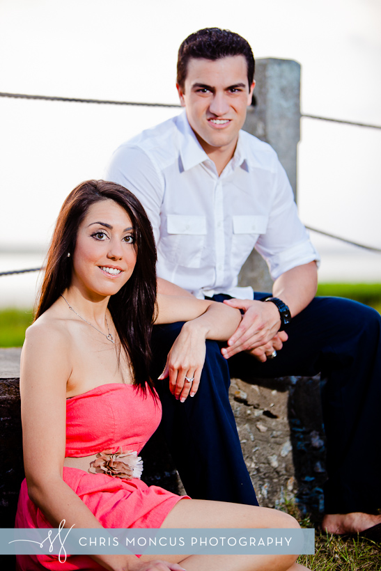Courtney Balmforth + Matt Azurmendi Engagement Session on Jekyll Island (4)