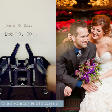 Jess + Dan's Winter Wedding || Grand Rapids Michigan Destination Wedding Photographer