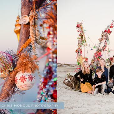 Van Boxel Family Christmas || St Simons Island Family Photographer