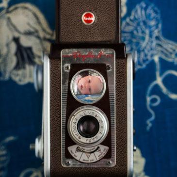 Baby in Kodak Duaflex IV Camera Lens || It's My Baby Eliana!