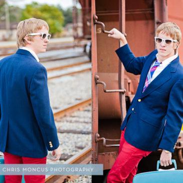 Kevin's Travel Themed Senior Portraits || Brunswick Senior Portrait Photographer