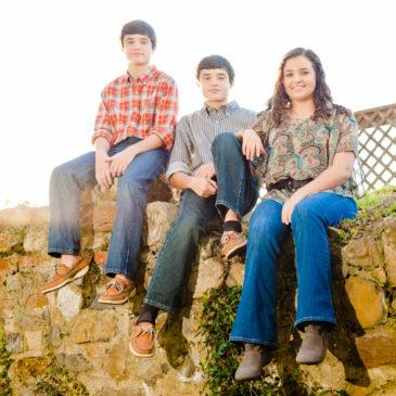 Johns Family in Downtown Darien || Darien Family Photographer