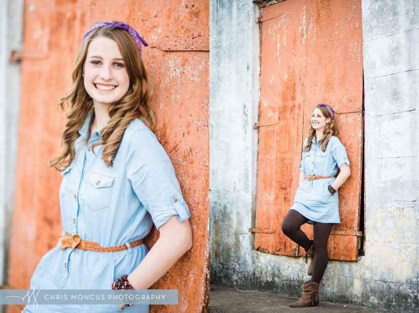 Darien Senior Portrait Photographer
