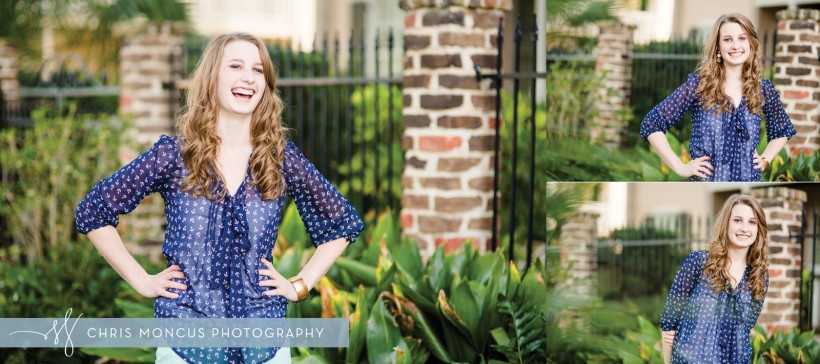 St Simons Island Senior Portrait Photography