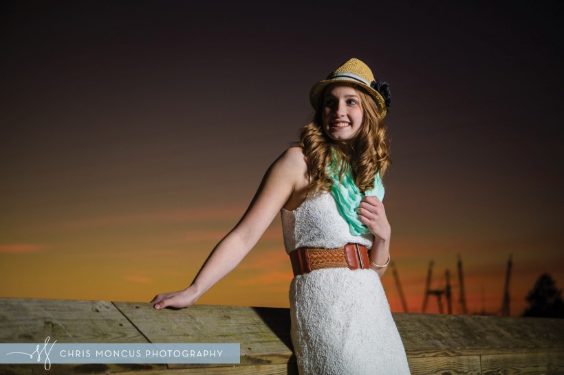 St Simons Island Senior Portraits Photographer