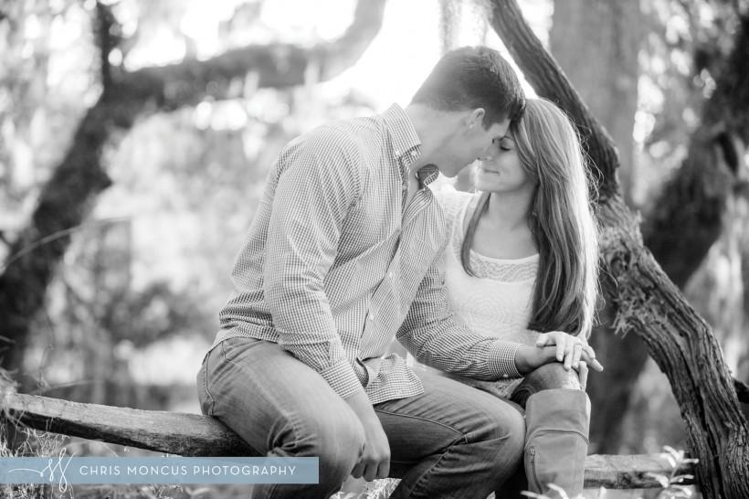 Adorable Engaged Couple St Simons Island