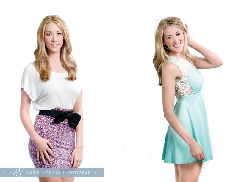 Erica's Modeling Comp Cards Portrait