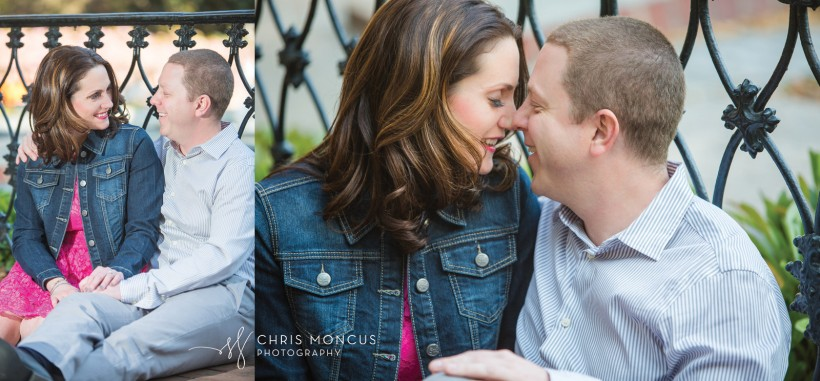 Forsyth Park Fountain Savannah Engagement Session