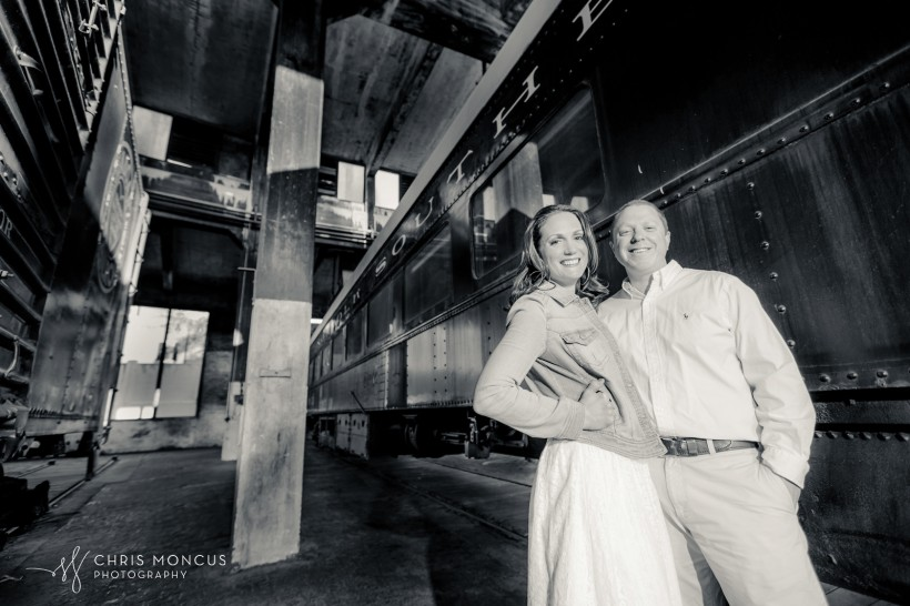 Savannah Train Engagement Session
