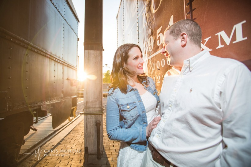 Wedding Photographer Roundhouse Railroad Museum Savannah