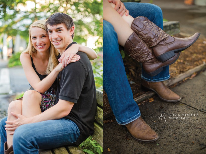 Engagement Session With Cowboy Boots