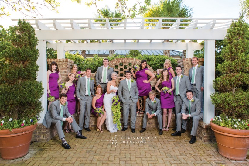 St SImons Island Wedding Party
