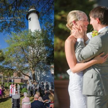 Preview: Bradi + Alan's St Simons Lighthouse Wedding