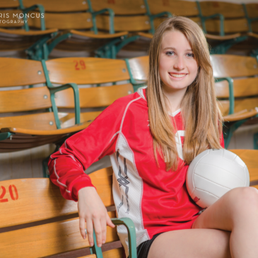 Kaitlin's Volleyball Senior Portraits