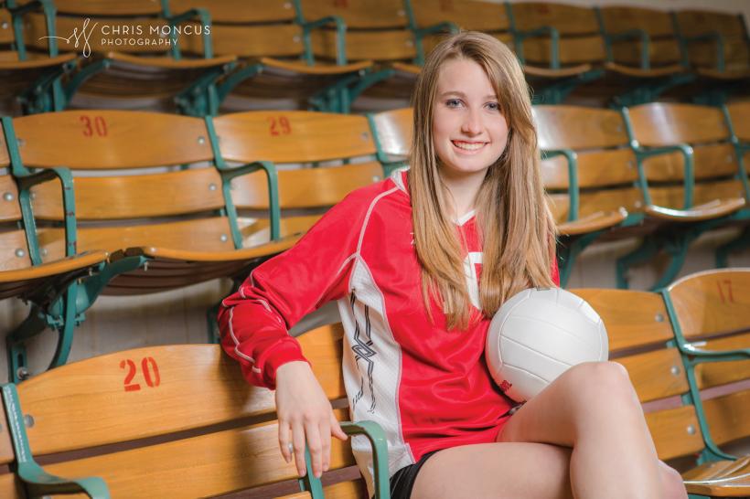College of Coastal Georgia Volleyball Senior Portraits