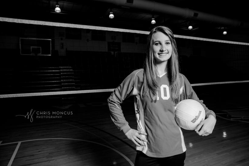 Glynn Academy Volleyball Senior Portraits