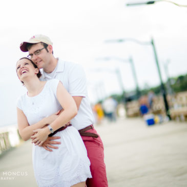 Whitney and Jon's Shotgun-Inspired Engagement Session