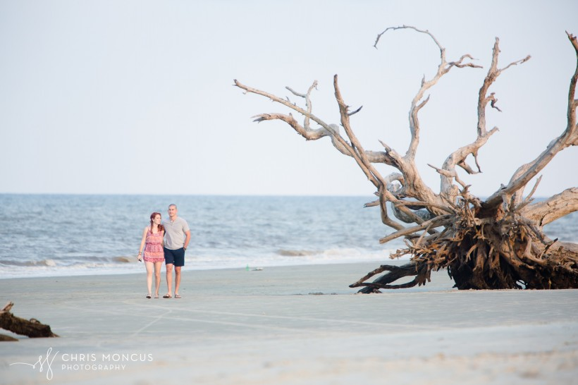Driftwood Beach Proposal Jekyll Island 02