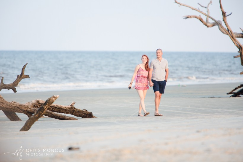 Driftwood Beach Proposal Jekyll Island 03