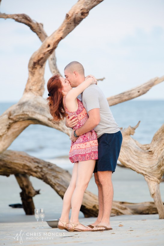 Driftwood Beach Proposal Jekyll Island 09