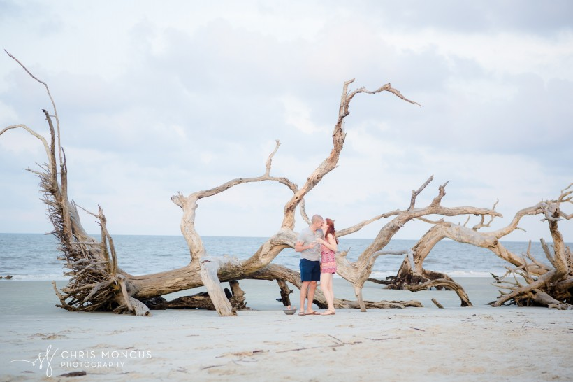 Driftwood Beach Proposal Jekyll Island 13