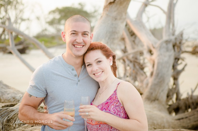 Driftwood Beach Proposal Jekyll Island 15