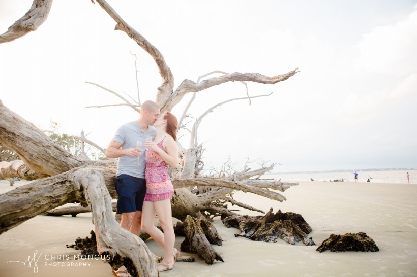 Driftwood Beach Proposal Jekyll Island 16