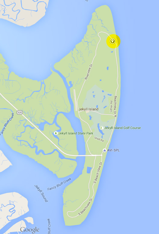 Directions To Driftwood Beach Jekyll Island GA  Chris
