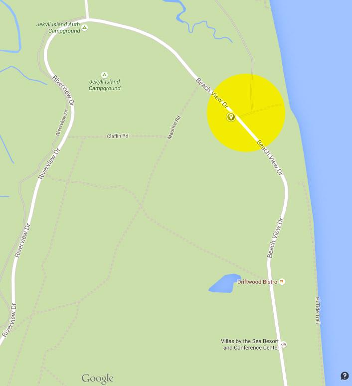 Directions To Driftwood Beach Jekyll Island GA Chris Moncus - Georgia map jekyll island