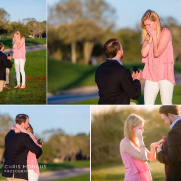 A Surprise Sea Island Lodge Wedding Proposal with Chas and Julie