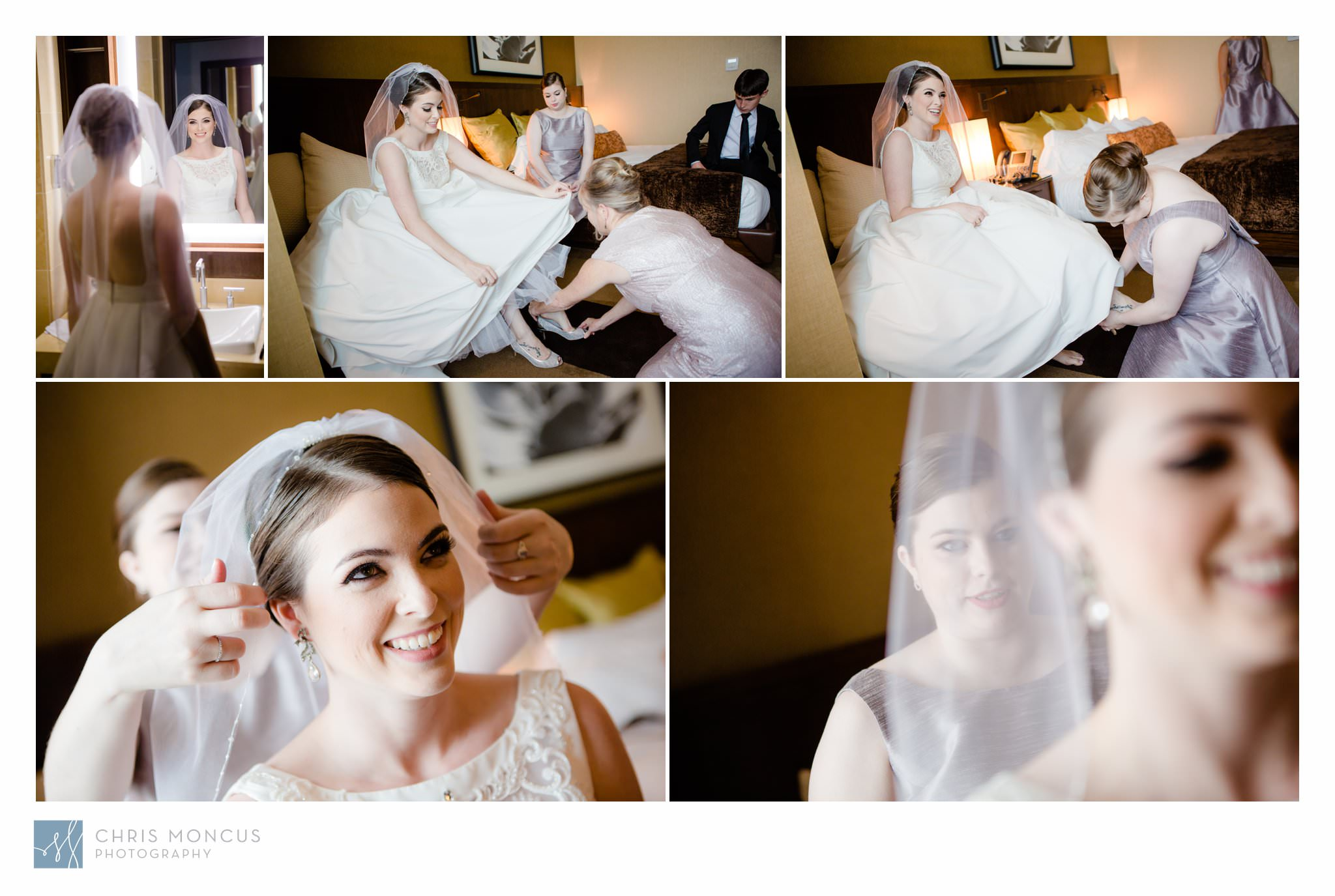 Bride Gets Ready in Aliante Casino Las Vegas