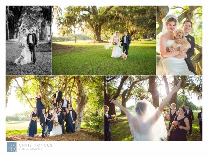 Wedding Portraits at the Avenue of the Oaks on St Simons Island and Sea Island Lodge