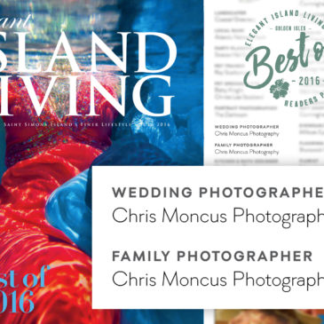 Thank You For Voting Us Best Wedding Photographers of the Golden Isles!