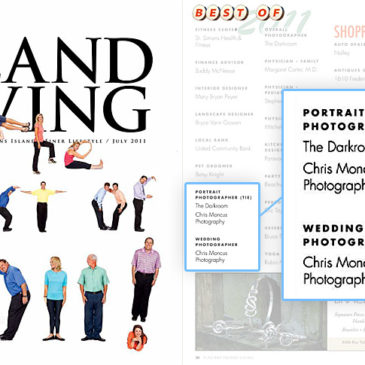Elegant Island Living Magazine Best Wedding and Portrait Photographer