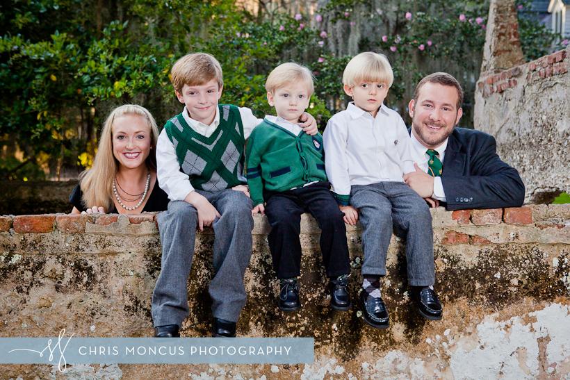 Searles Family Photography at Christ Church on St Simons Island (2)