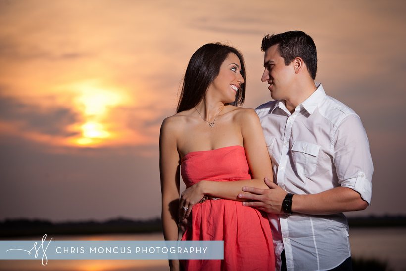 Courtney Balmforth + Matt Azurmendi Engagement Session on Jekyll Island (5)
