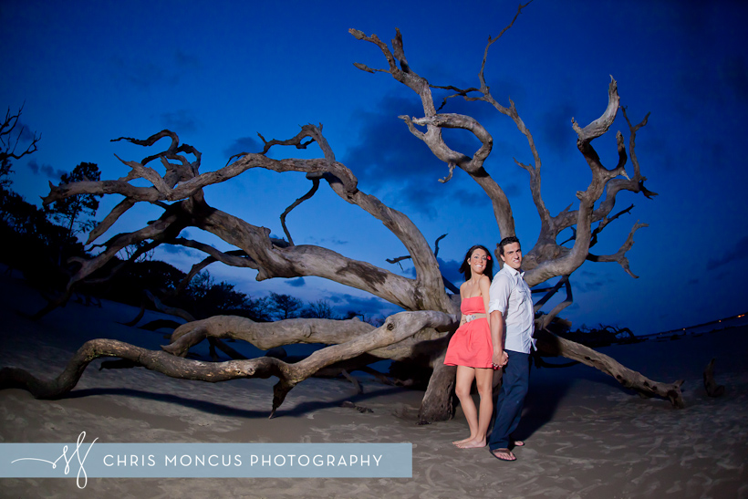 Courtney Balmforth + Matt Azurmendi Engagement Session on Jekyll Island (8)