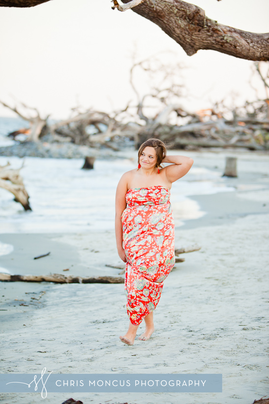 Jekyll Island Senior Portrait Session at Driftwood Beach and Historic District (8)