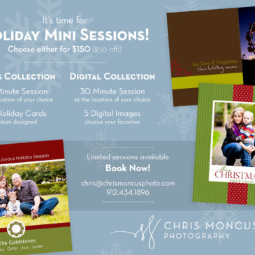 Holiday Photo Sessions + Cards 2011