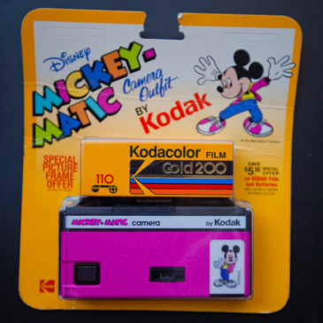 Mickey Mouse 110 Film Camera in Pink