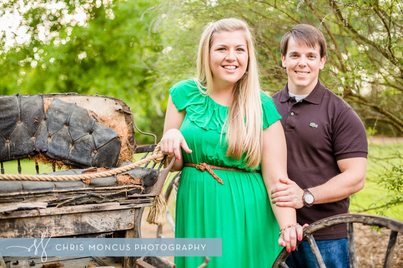 Cute Statesboro Engagement Session Georgia Southern University Botanical Gardens