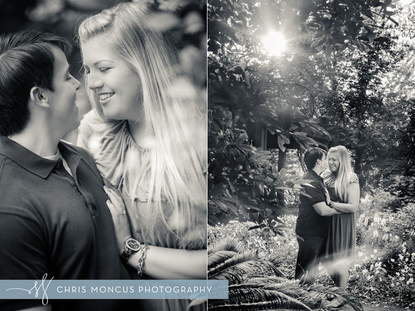 Georgia Southern University Botanical Gardens Engagement Session