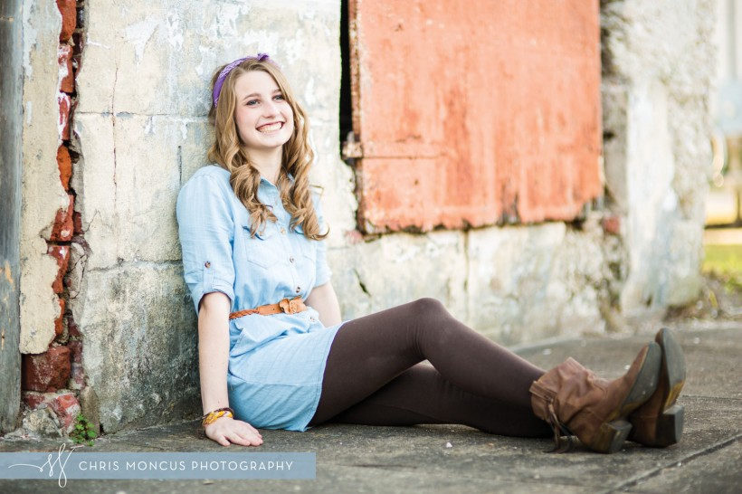 St Simons Island Senior Portrait Photographer