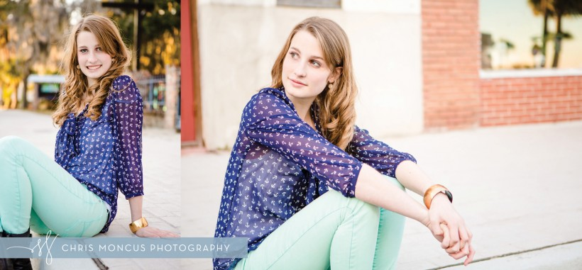 Brunswick Senior Portrait Photography