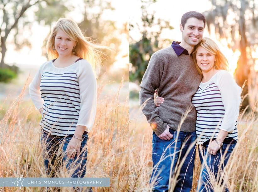 Couple at Sunset Savannah