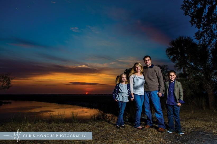 Savannah Family Photographer Sunset
